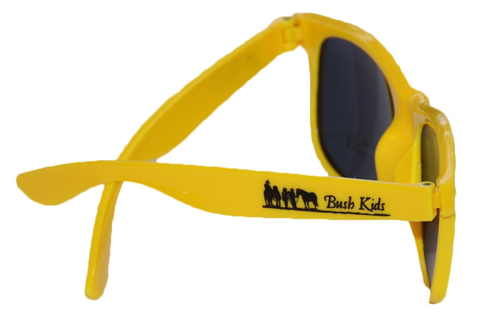 ac0e712eed Kids sunglasses with polarized lenses - Yellow - The Bush Store