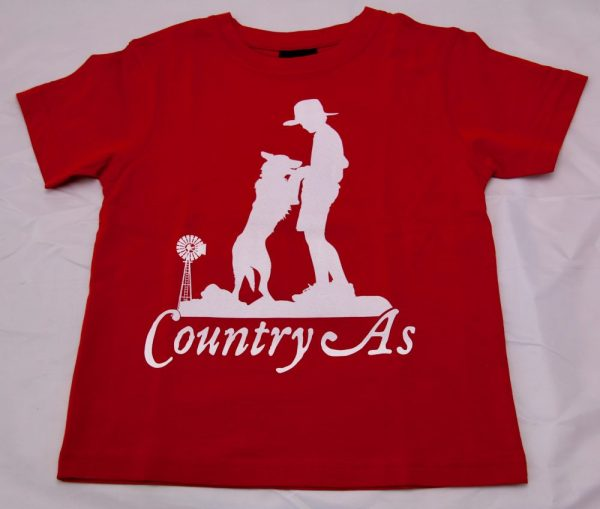 Red Country As T-shirt
