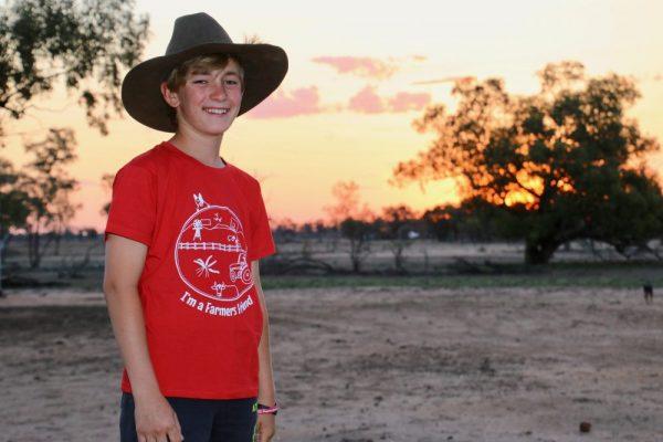 farmers friend red tshirt