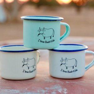 moo enamel mugs