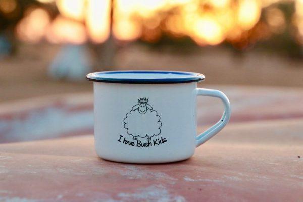 white woolly mug