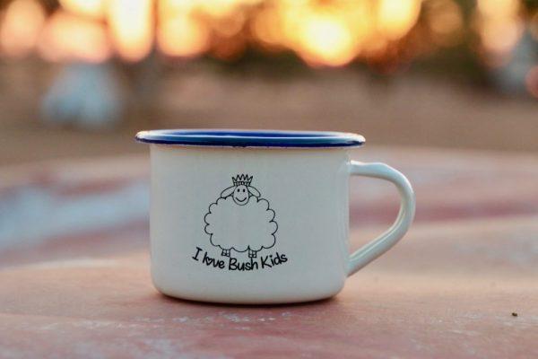 cream woolly mug