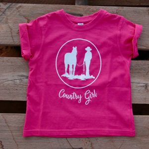 Pink country girl t-shirt