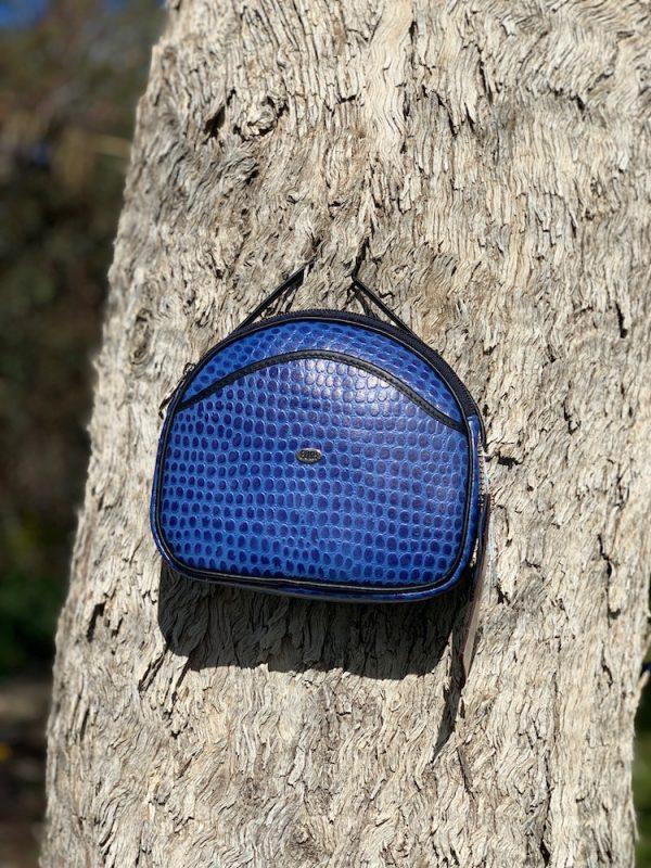 Blue Pebble 100% leather Shoulder bag