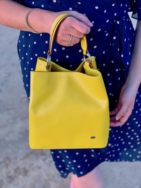 Sunflower Yellow Bucket Bag